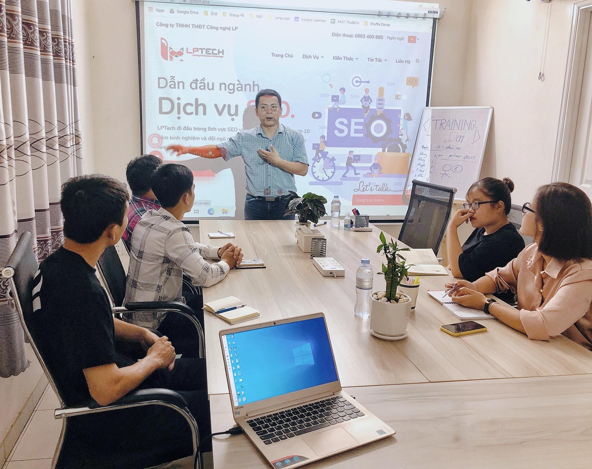 Thiết kế web và SEO - LPTech