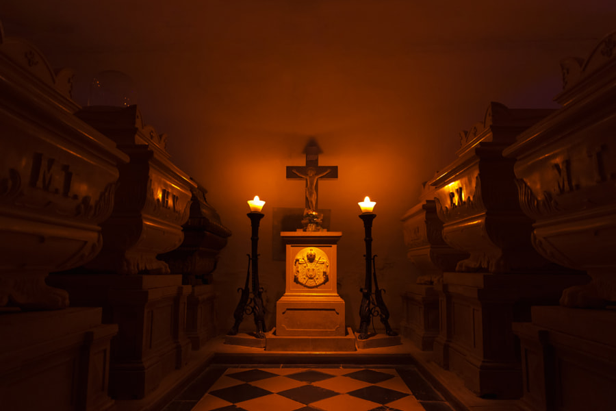 Tombs of the Bourbons by Jure Batagelj on 500px.com
