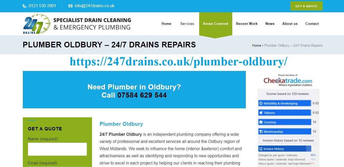 plumber oldbury