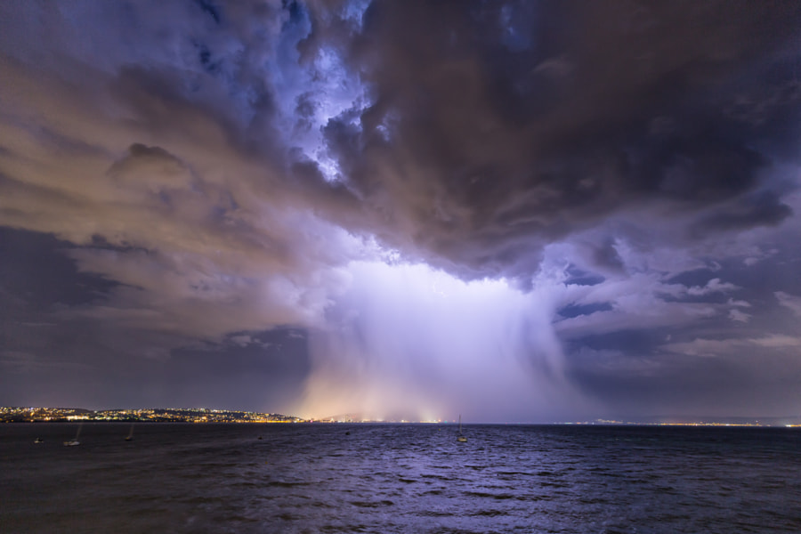 Microburst, Swansea 2020 by Tim Bow on 500px.com