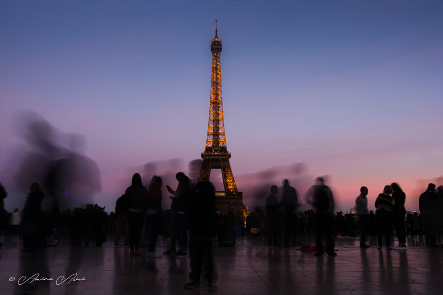 Paris' Life by Amina Azmi on 500px.com