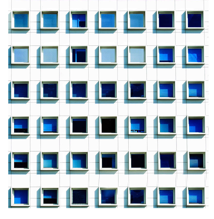 Various Shades of Blue on White by Ash Camas on 500px.com