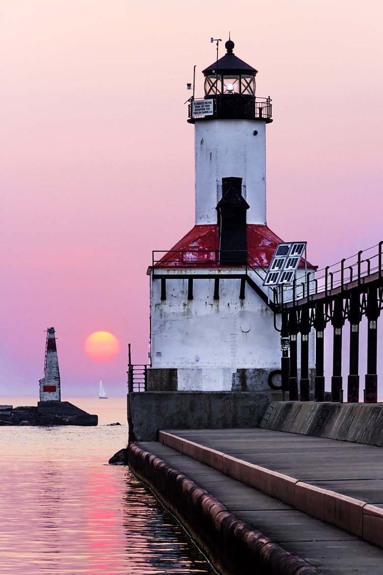 Photograph Michigan City East Pierhead Light by Kenneth Keifer on 500px
