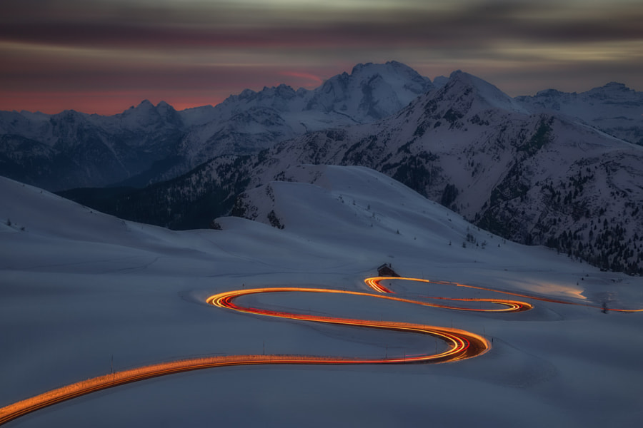 A ribbon of light by Dino Marsango on 500px.com