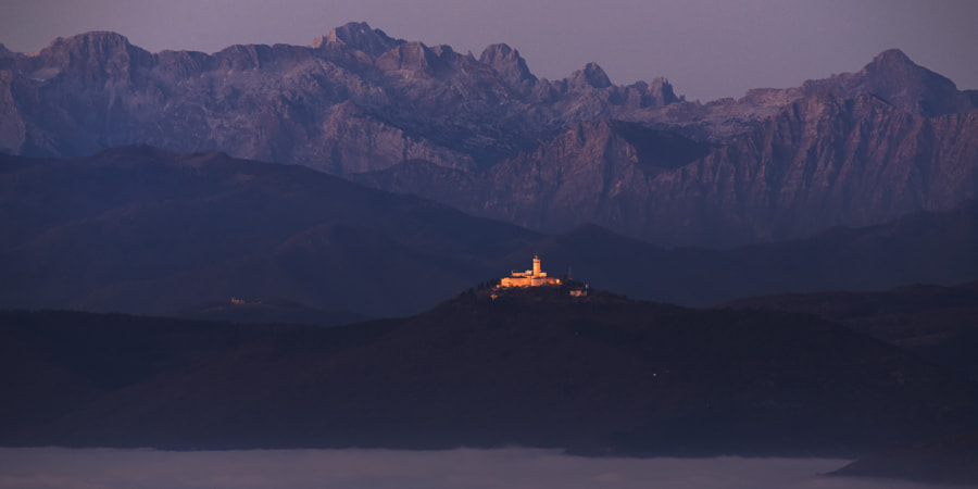 Church Holy Mountain by Jure Batagelj on 500px.com