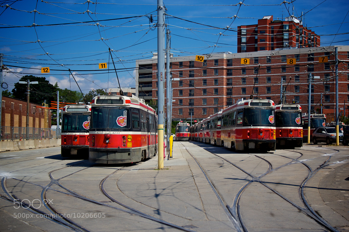 Photograph Streetcar Yard by Jason Cook on 500px