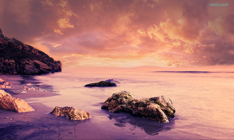 Seascape sunset by Alessandro Di Cicco on 500px.com
