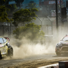 Global Rallycross Final Round at X-Games 2012 by Alex Huff (2pnt0)) on 500px.com