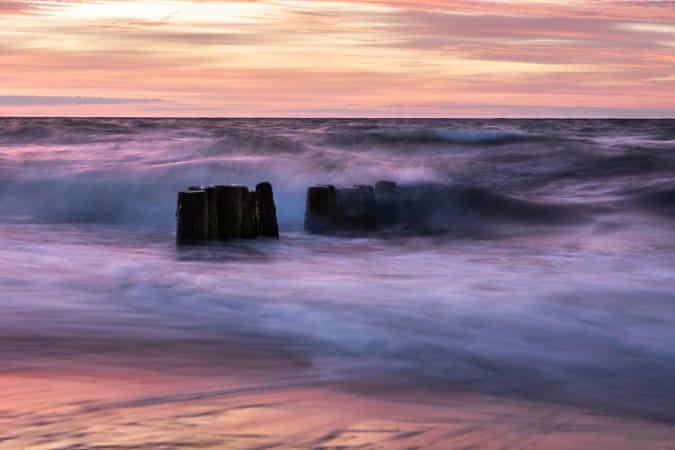 Sea evening by Marcin Sz - 丨Vanechow Blog a No.1from shop.vanechow.com