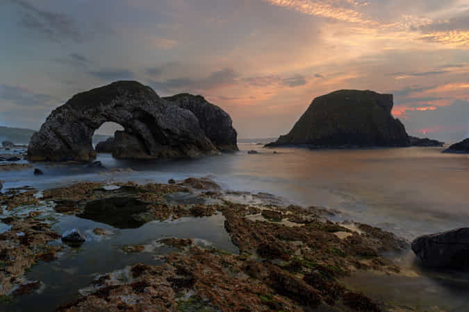 Sea Arch 2 - A Little Later. by Barrie Lathwell 1 - 丨Vanechow Blog a No.1from shop.vanechow.com
