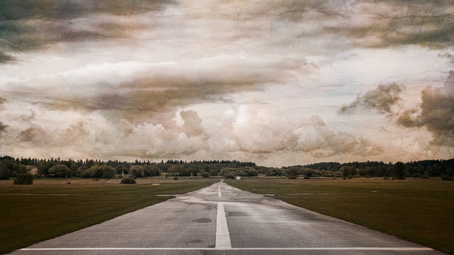 The small airfield by Axel Hoffmann on 500px.com