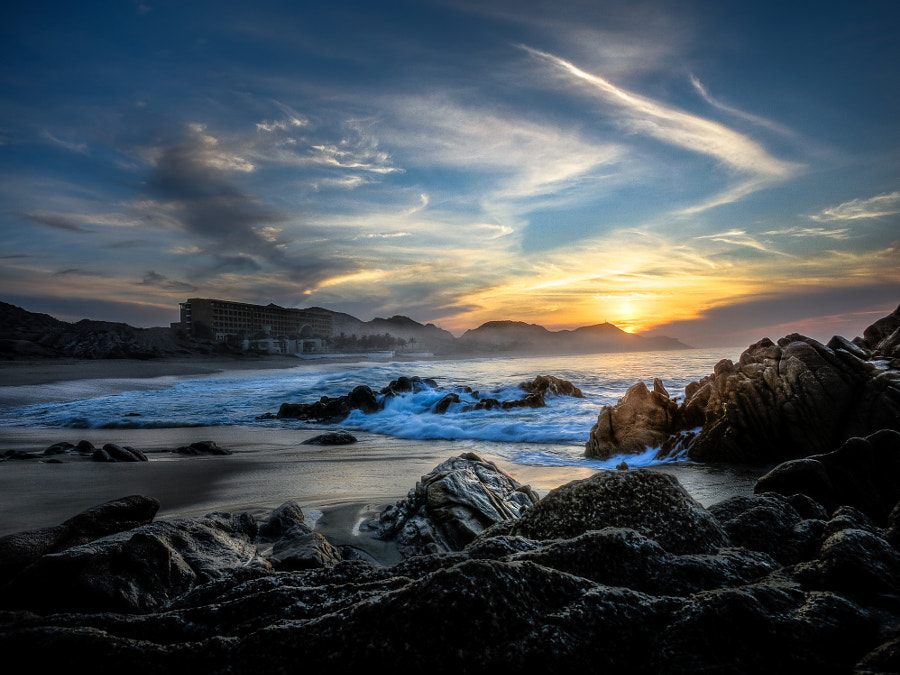 Photograph Sunrise in Cabo by Heath Cajandig on 500px