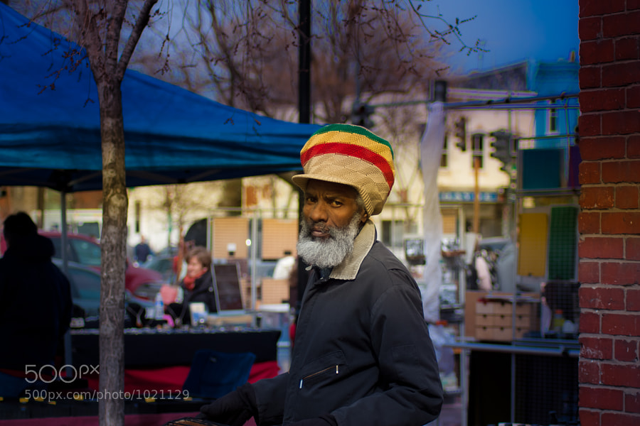 Street vendor at Eastern Market, Washington DC