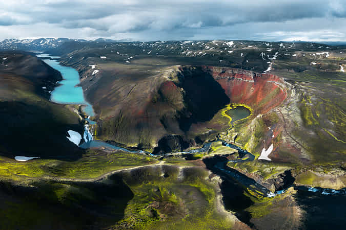 Colorful Highland Paradise - Iceland by Daniel Gastager - 丨Vanechow Blog a No.1from shop.vanechow.com