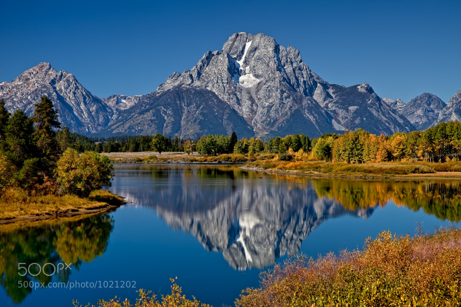 Photograph A Perfect Day in the Tetons by Carol Rukliss on 500px