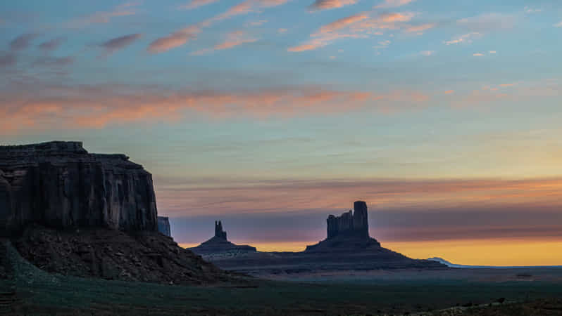 Dawn at Monument Valley by Randy Poll - 丨Vanechow Blog a No.1from shop.vanechow.com