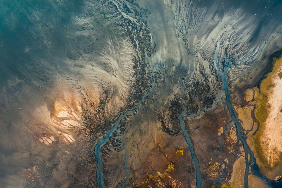 Aerial Curled River  by Bahadir Sansarci on 500px.com