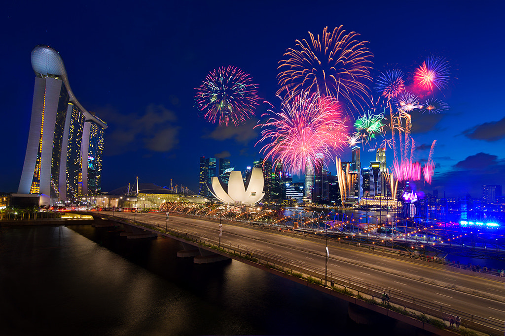 Photograph Fireworks by Son Nguyen on 500px