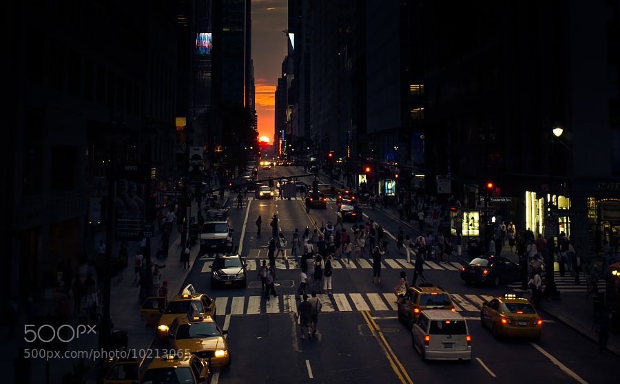 Photograph Manhattanhenge by Marco Hofmann on 500px