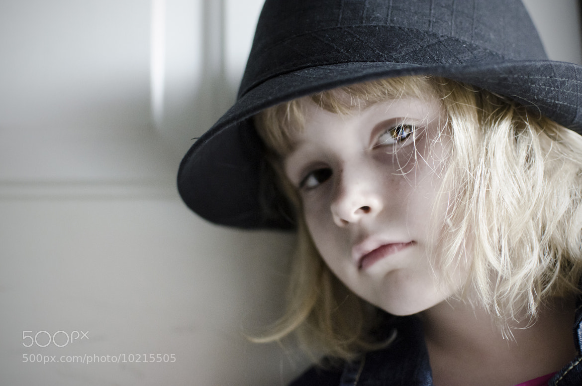 Photograph Daughter in Fedora by Joshua Carroll on 500px