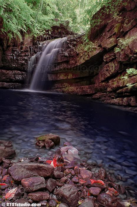 Photograph My Dream @ Batu Kawah Waterfall (Infrared) by Ali Shamsul Bahar on 500px