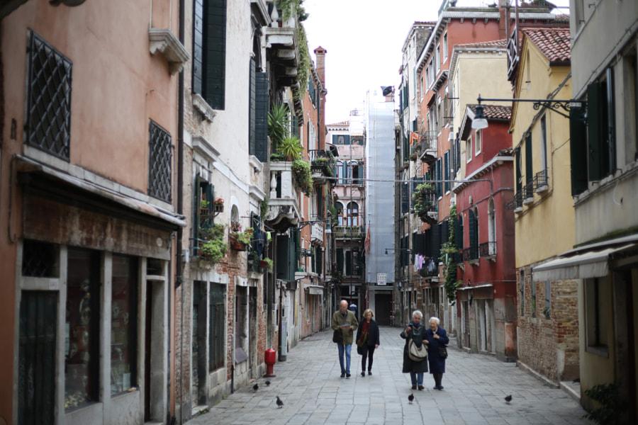 Venetian street by Pavel  Furmanyuk on 500px.com