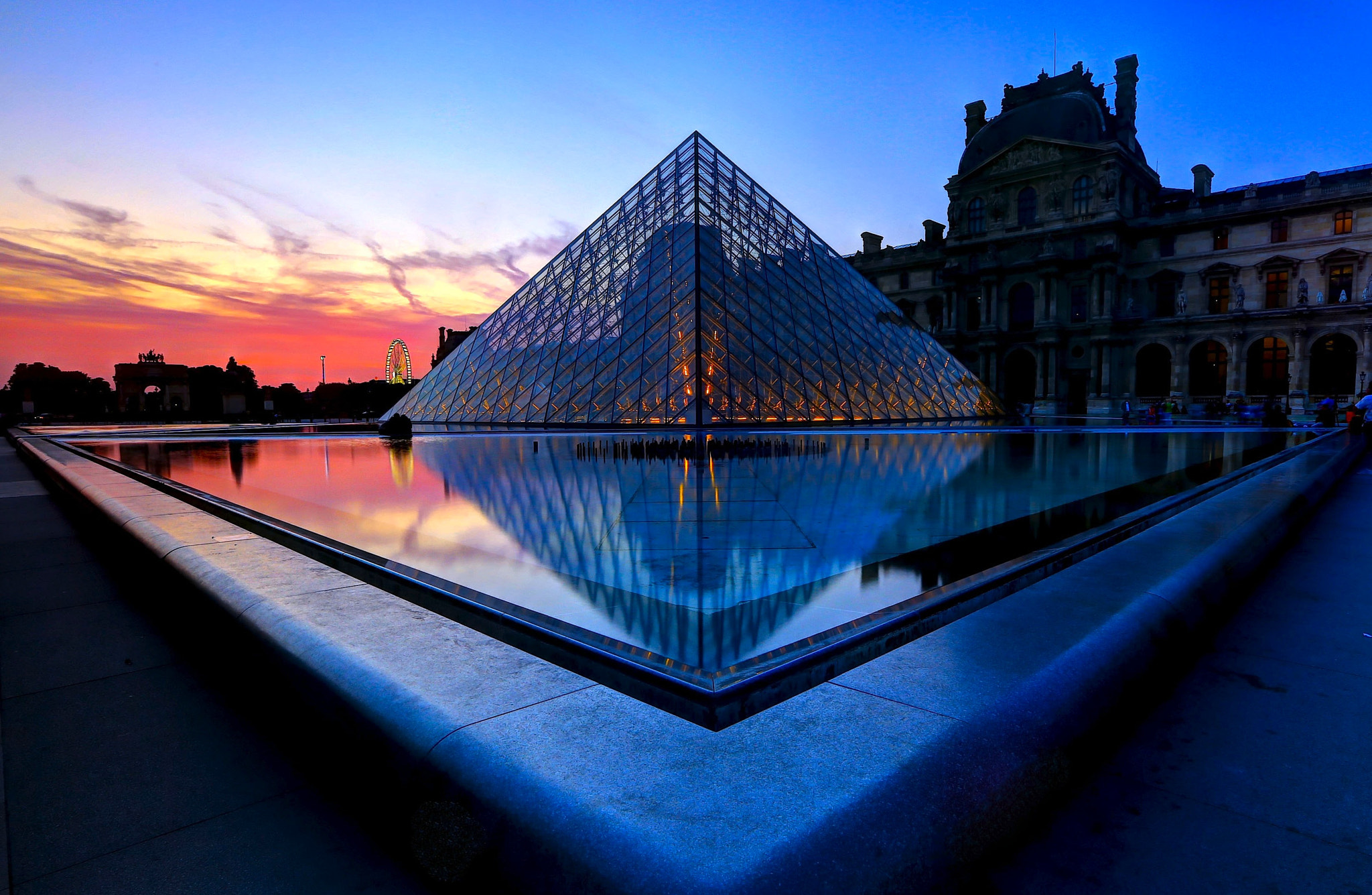 Photograph The Louvre by Vince Chong on 500px