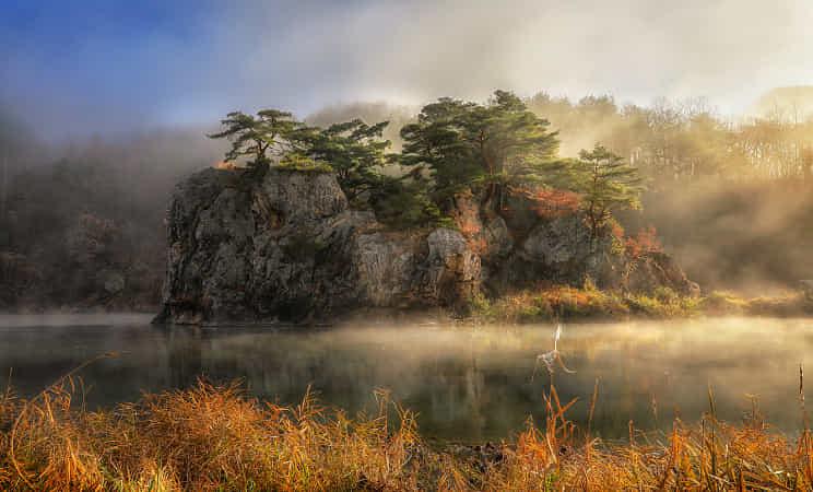 Misty Morning by Jaewoon U