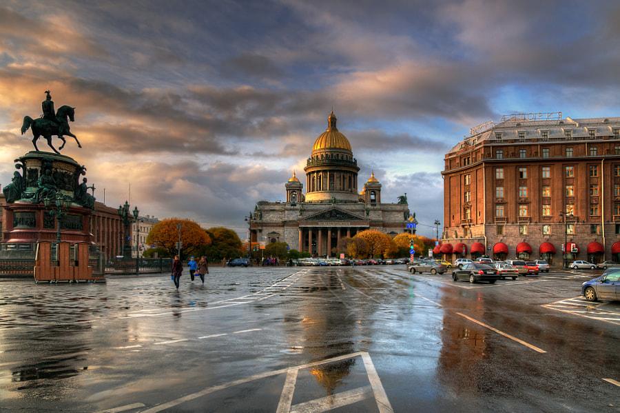 Исаакиевская площадь... by Ed Gordeev on 500px.com