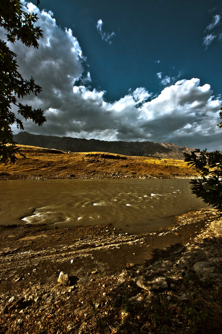 Photograph The River and Clouds by Loai Alamro on 500px