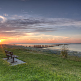 Sunrise at Shoebury 1 by Stuart Barry (Stuart-Barry)) on 500px.com
