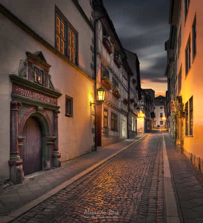Knights Alley by Alexander Riek