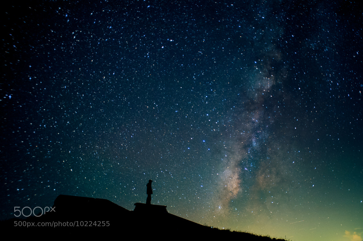Photograph starry sky by Hung Bo-Wen on 500px