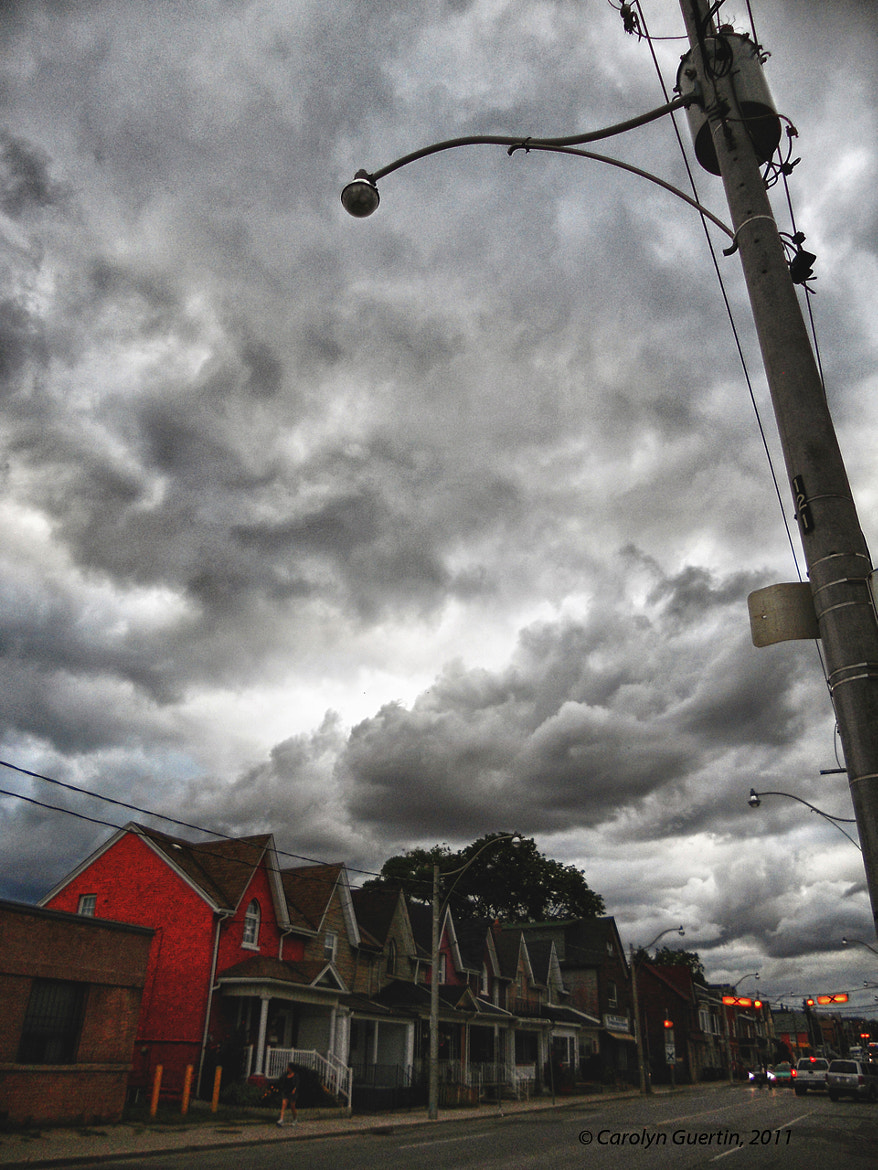 Photograph Storm Over Dufferin by Carolyn Guertin on 500px