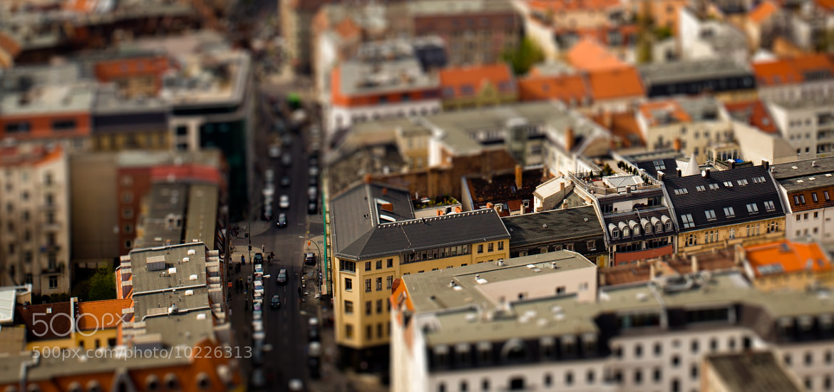 Photograph Miniature Berlin by Christoph Müller on 500px
