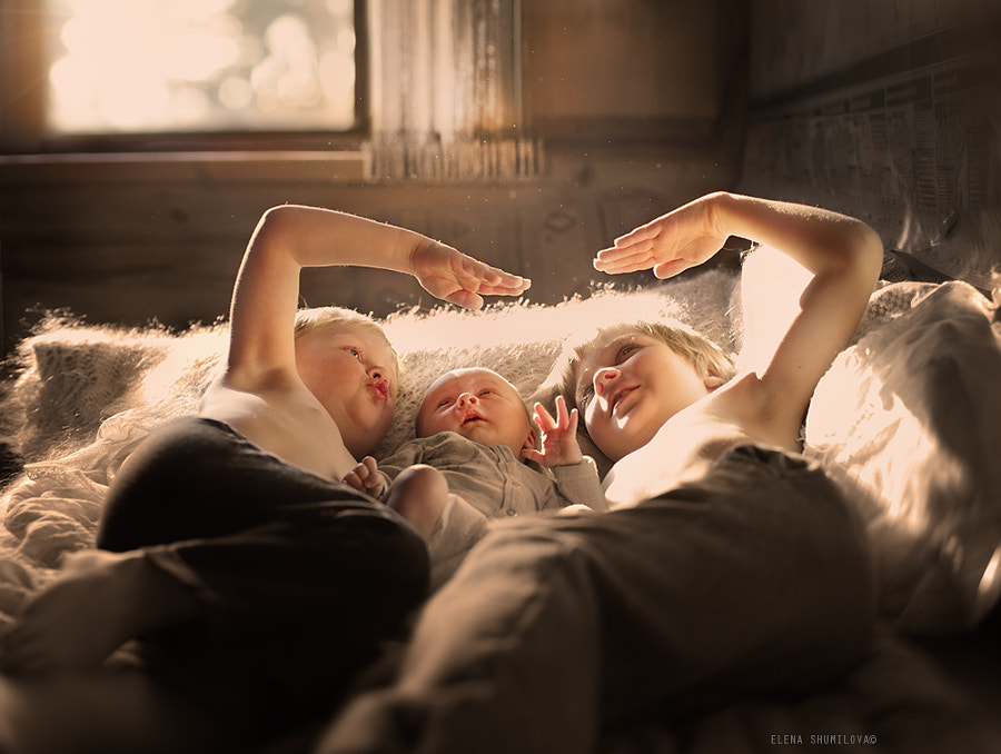 Photograph brothers by Elena Shumilova on 500px