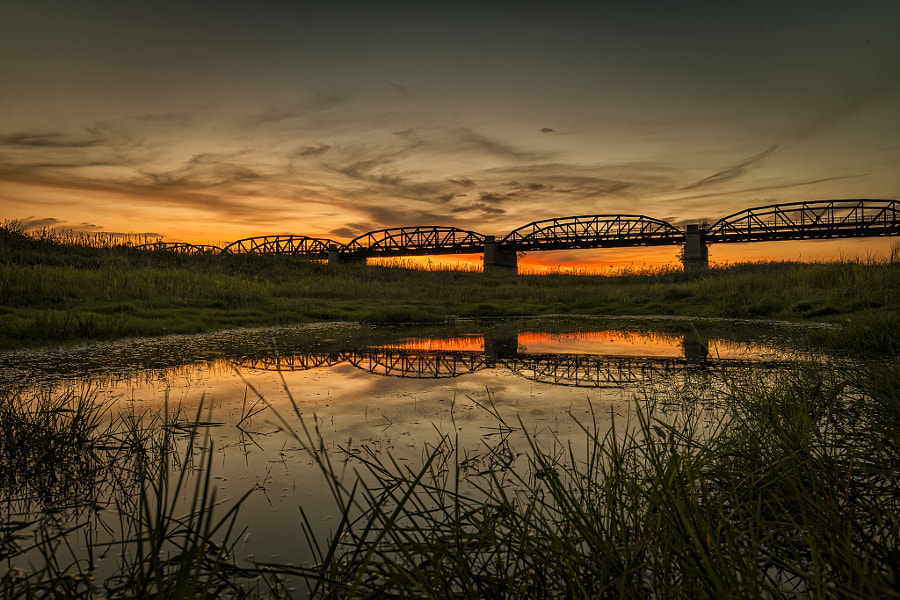 Old Railway Bridge by Hans-Peter Hein on 500px.com