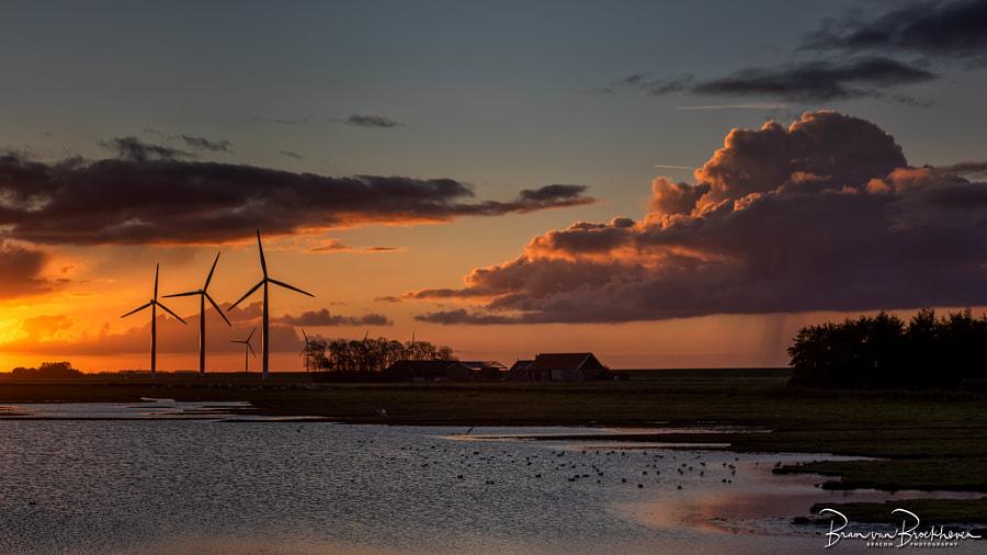 Sunrise and showers by Bram van Broekhoven on 500px.com