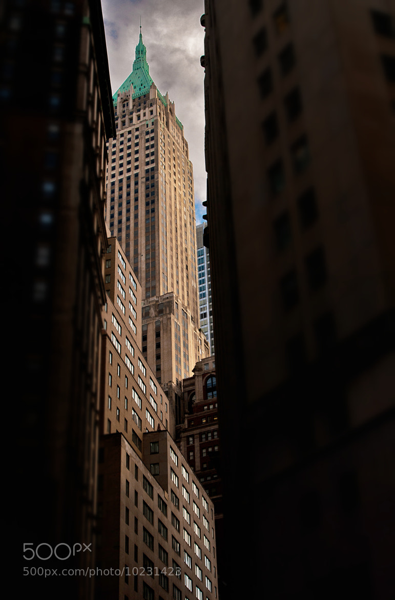 Photograph 40 Wall Street by Jay B. Wilson on 500px