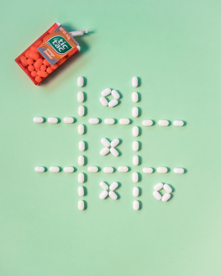 Tic Tac Toe by Priscilla Ong on 500px.com