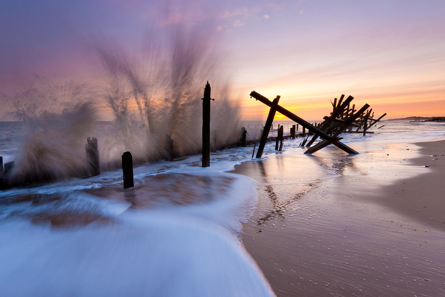 Photograph Wave Action by Paul Sutton on 500px