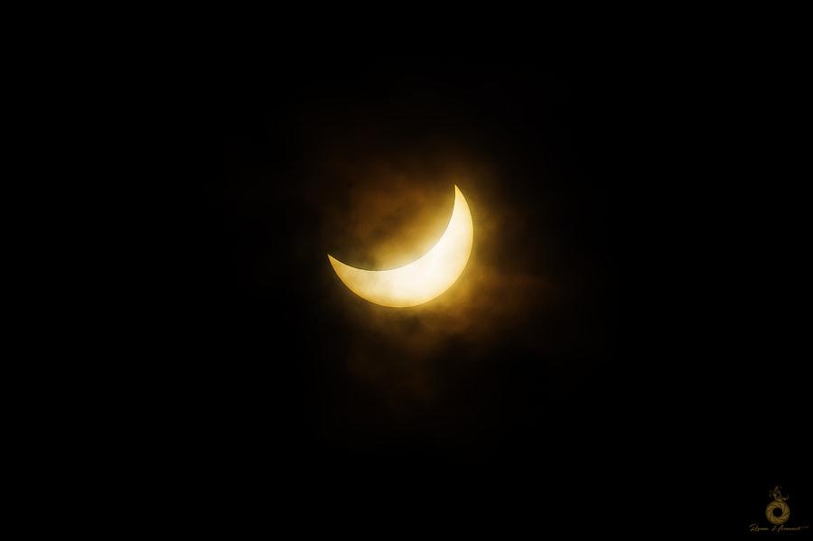 Solar eclipse by Romuald Hérouart on 500px.com