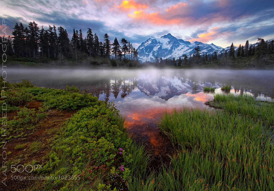 Photograph The Rise of Mt Shuksan by Aaron Reed on 500px