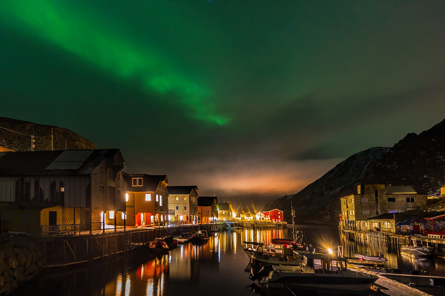 Northern Lights over Vesteralen by Michael Voss on 500px.com