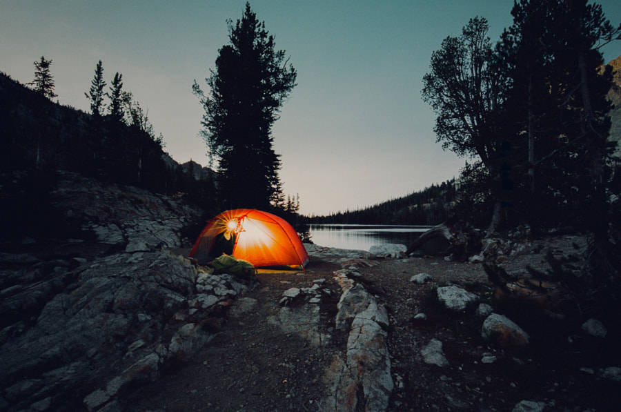 wilderness night on 35mm by Sam Brockway on 500px.com