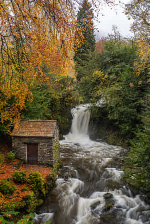 Rydal Falls and Grot by Jon G Photography