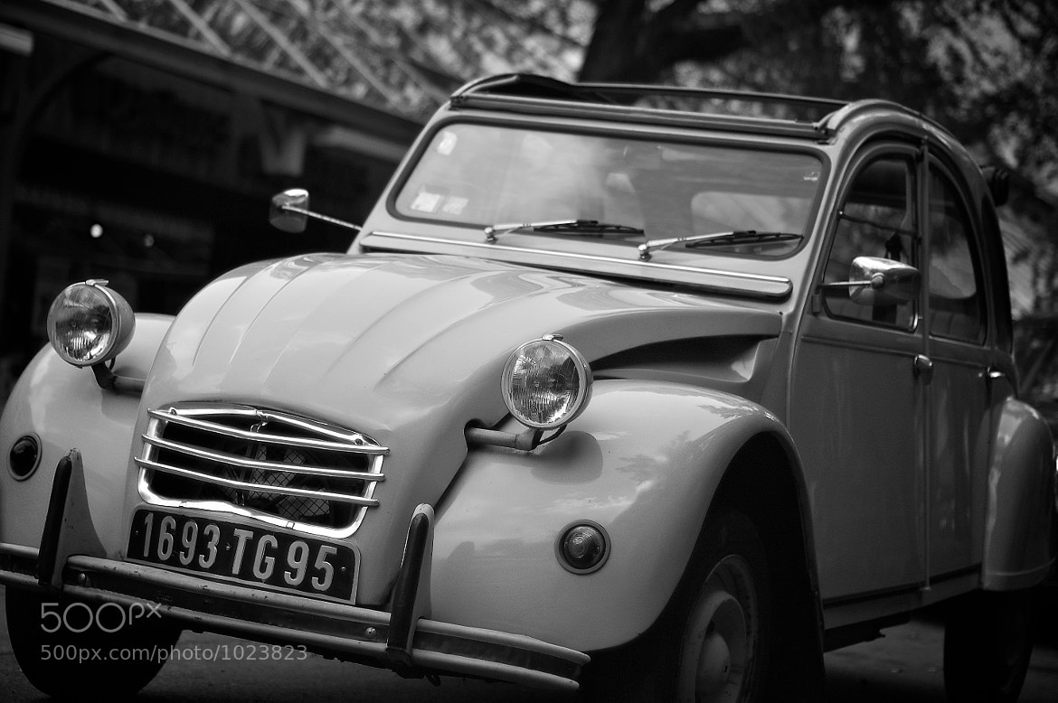 """Photograph The old French 2CV or """"dedeuche"""" by Emmanuel Dubois on 500px"""