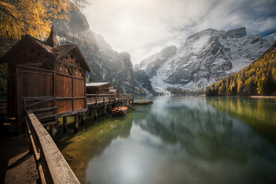 Autumn in Braies by Francisco Trevisan on 500px.com