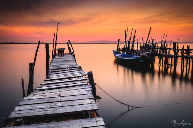 || OLD WOODEN PIER || by Bruno Soares