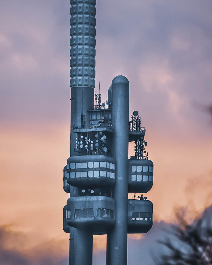 TV Tower in Prague, Czech Republic by Jonas Leonas on 500px.com